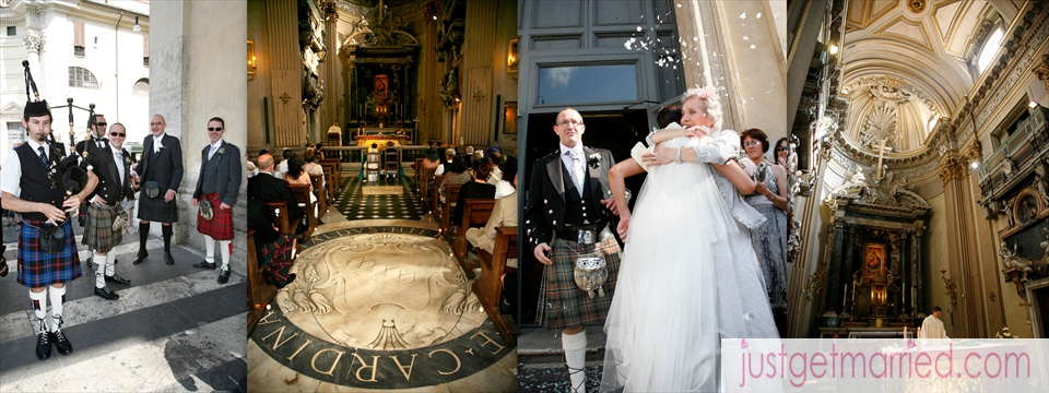 Weddings In Rome By Just Get Married In Italy, Italian